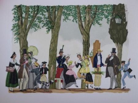 Tartarin de Tarascon, Illustration de Henry Lemarié